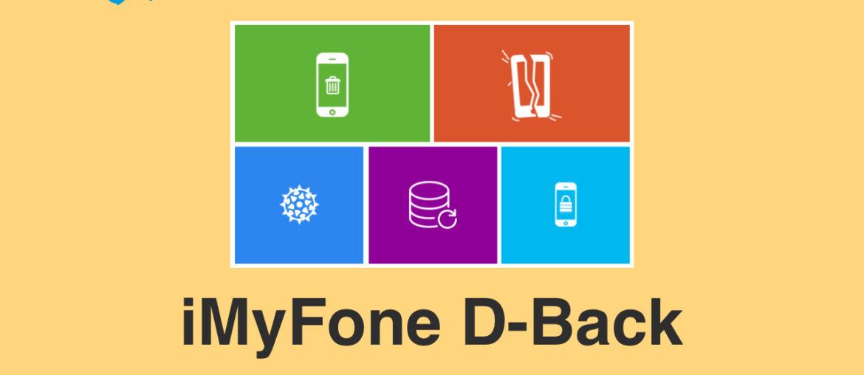 Обзор программы iMyFone D-Back