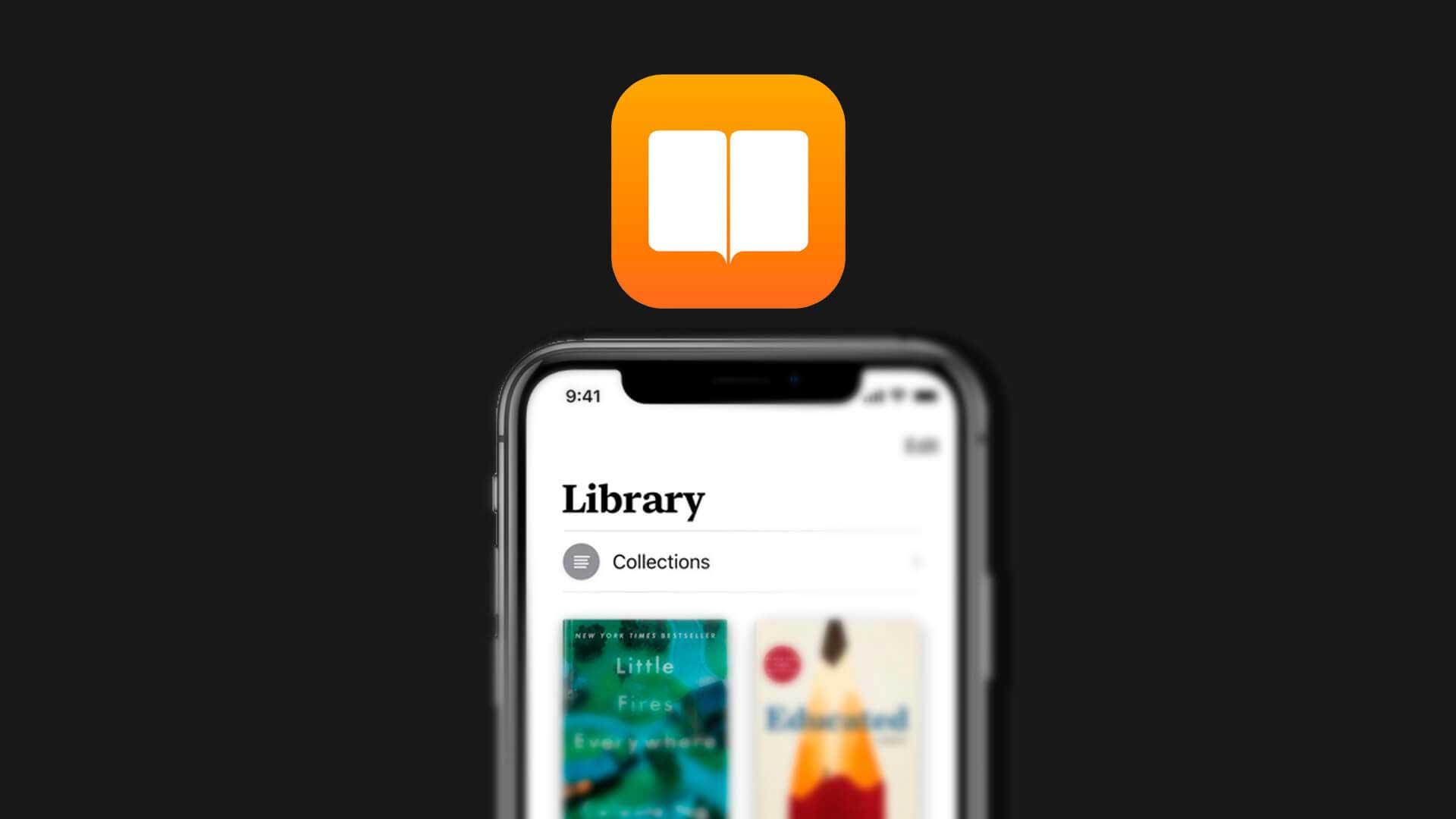 Читаем книги iPhone через iBooks
