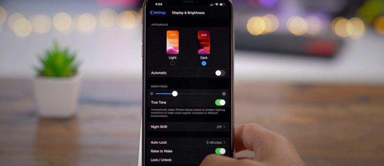 Включаем тёмную тему на iOS