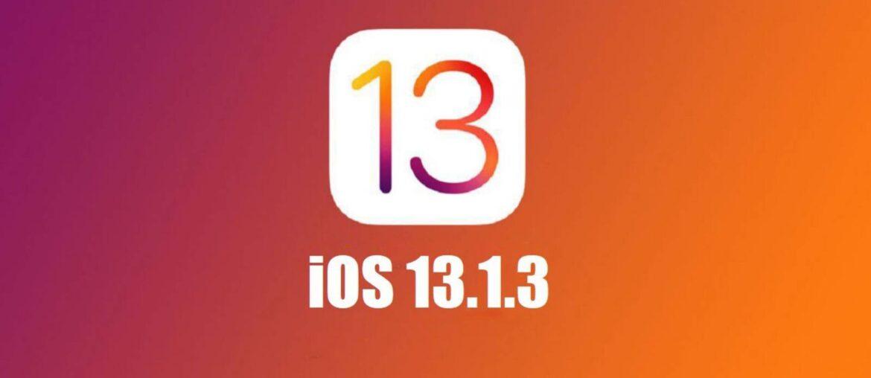 Неожиданный релиз iOS 13.1.3