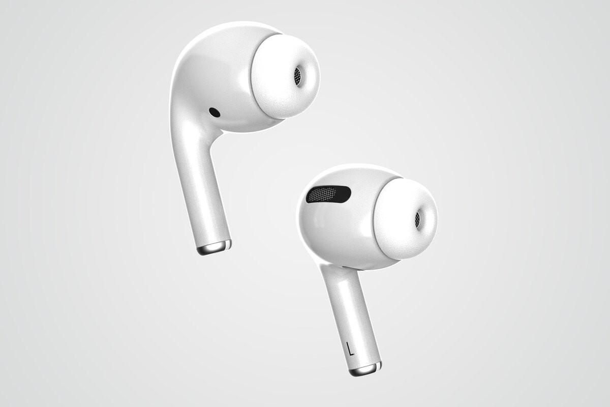 Дизайн AirPods 3 общий вид