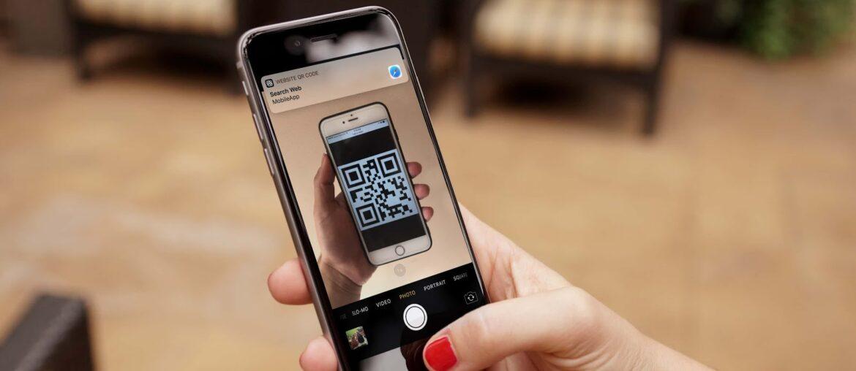 Как сканировать QR-код с помощью iPhone или iPad